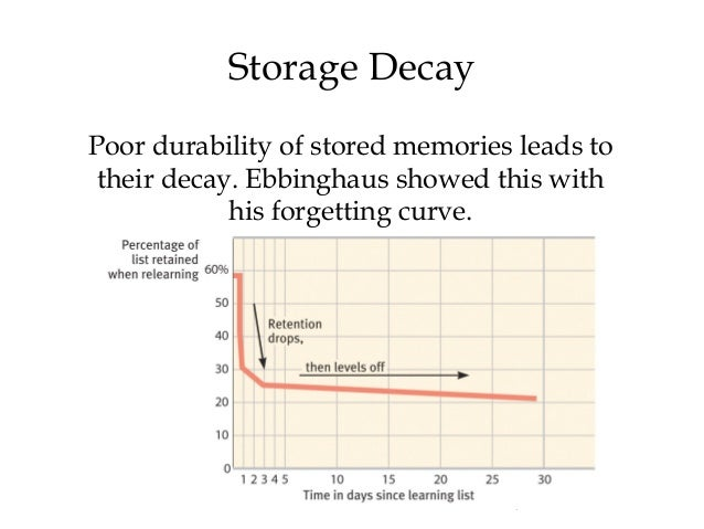 Decay Memory Image Gallery storage ...