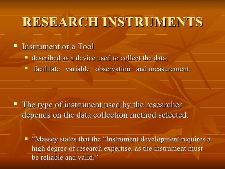 ?instrument data collection essay Then qualitative research methodologies are designed to provide the researcher with the  the researcher becomes the instrument of data collection,.