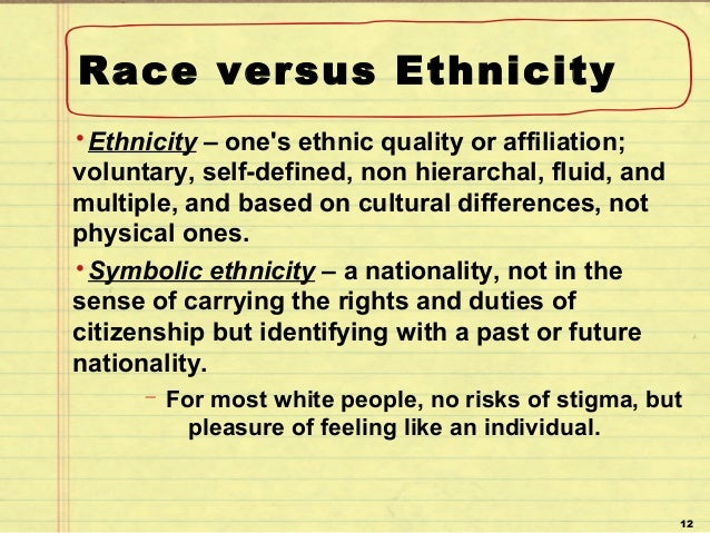 defining race and ethnicity