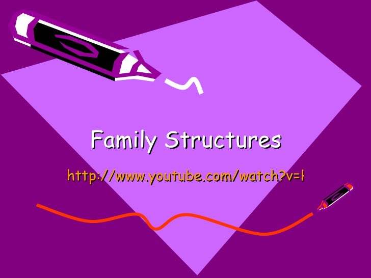 Family Structures http://www.youtube.com/watch?v=HDeh7kzXQrc