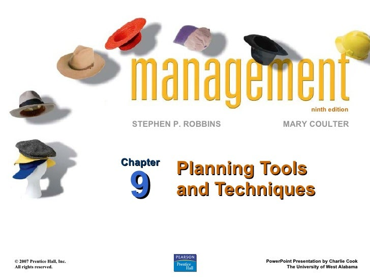 Chapter 9 planning tools techniques ppt09 Planning tools