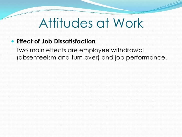 attitude at work There are a few simple strategies to keep in mind that will help you demonstrate a positive attitude, while still being yourself in the workplace.