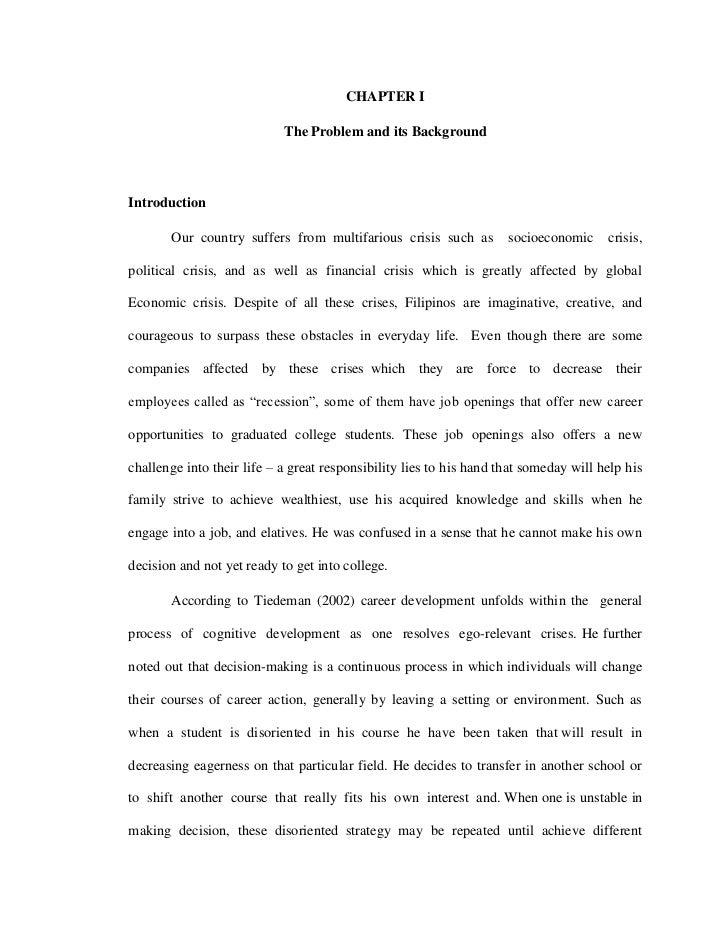 advertising thesis proposal