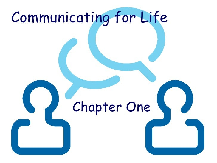 Chapter one-Communication
