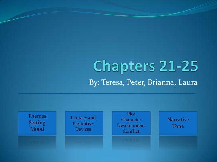 By: Teresa, Peter, Brianna, Laura    Themes                        Plot           Literacy and     Character     Narrative...