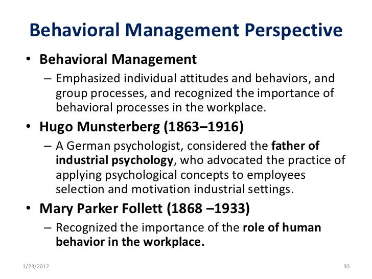 mary parker follett s contributions to management thought and practice The founding theorists of management are  henri fayol and mary parker follett taylor's theory is  contributions to the schools of thought of management,.