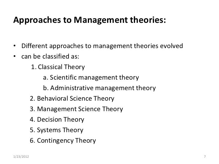 is the classical approach to management obsolete essay From the contribution of both schools to management practice, the classical approach and need essay sample on comparison and contrast of scientific management.