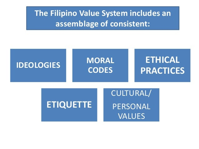 filipino personality and values