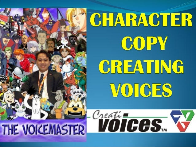 Character copy presentation voiceworx 9