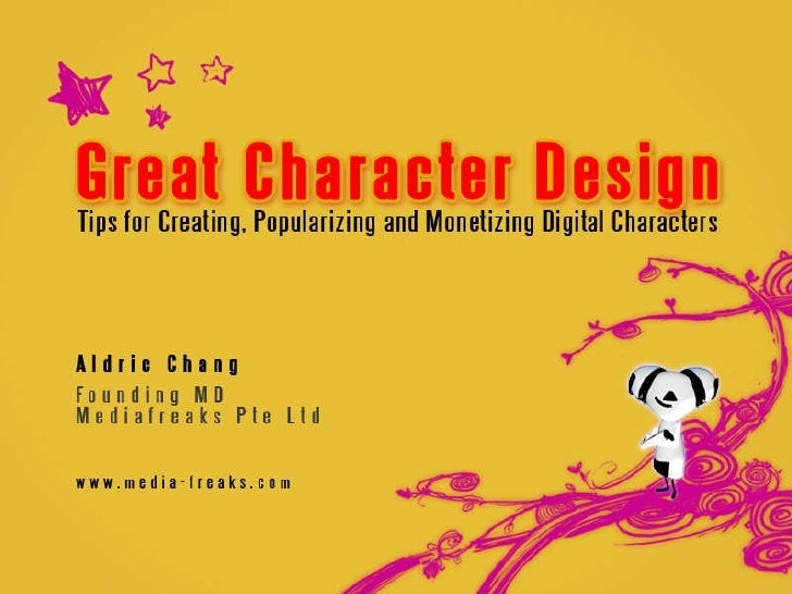 Great Character Design - Tips for Creating and Monetizing Cartoon Characters