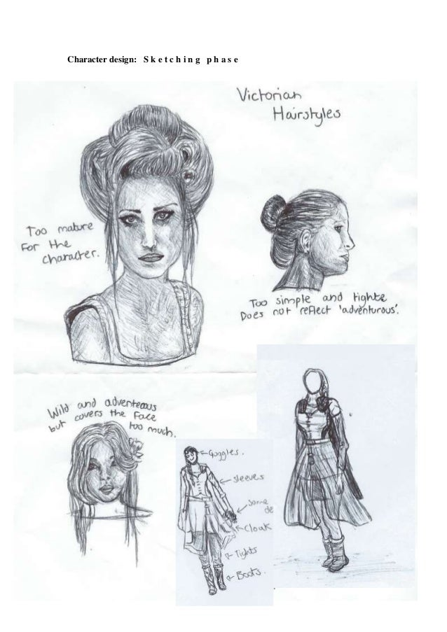 Character Design Tips And Tricks : Character design