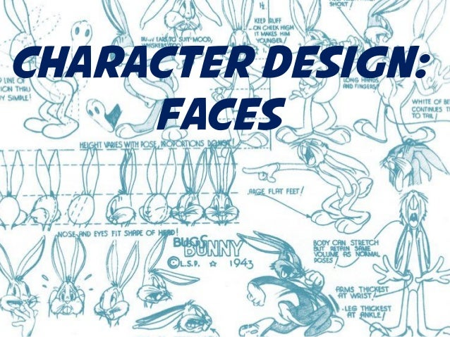 Character Design: Faces
