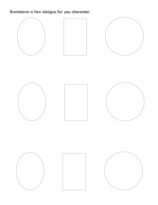 Character Design Template