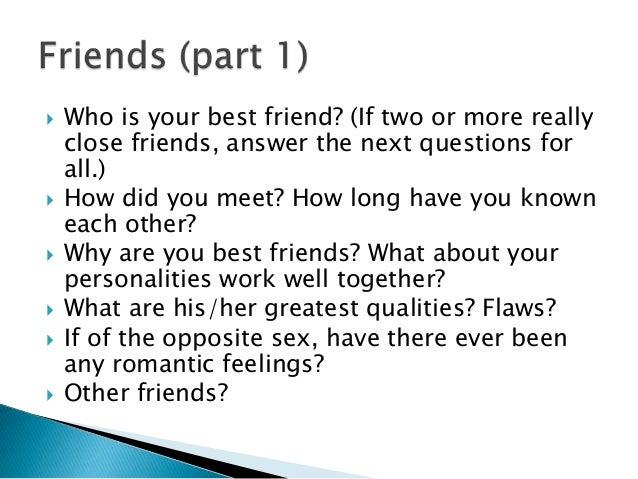 Do I Like My Friend Quiz
