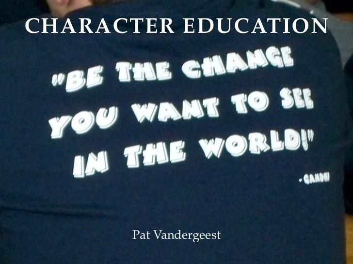 Character education keynote upload