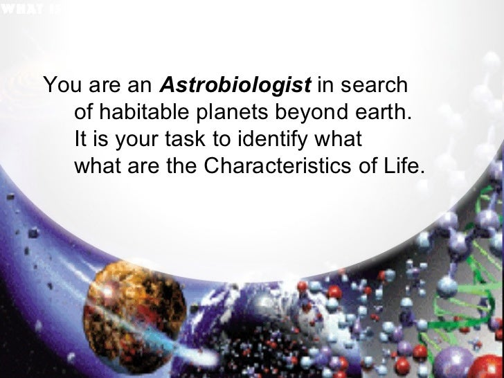 You are an  Astrobiologist  in search  of habitable planets beyond earth. It is your task to identify what  what are the C...