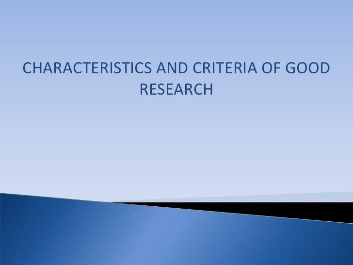 attributes of a good research paper To be a truly great project manager, you must be a strategic business partner fully  vested  coupled with the necessary technical skills, these attributes will place  you in higher demand  related project management articles.