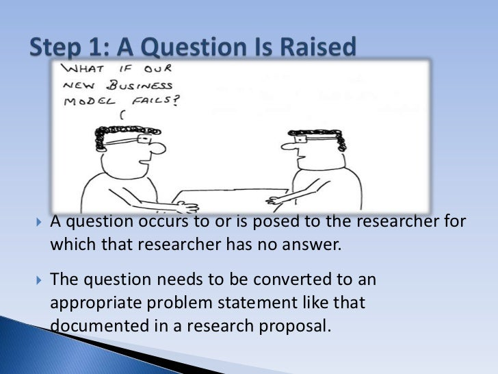 Good Scientific Research Question?