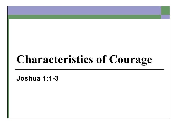 Characteristics of Ccourage