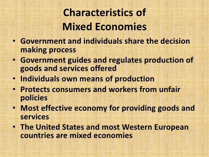 Characteristics of economic systems for 6 characteristics of bureaucracy