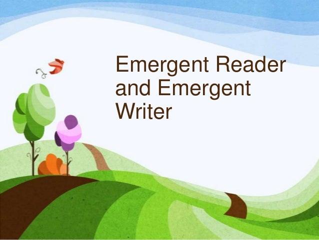 Characteristics of emergent reader