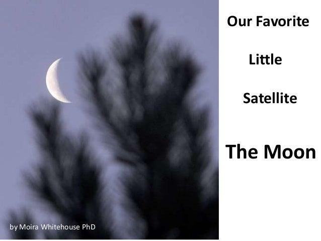 The Moon... physical characteristics  (teach)
