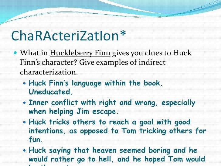 Huck finn character analysis essays