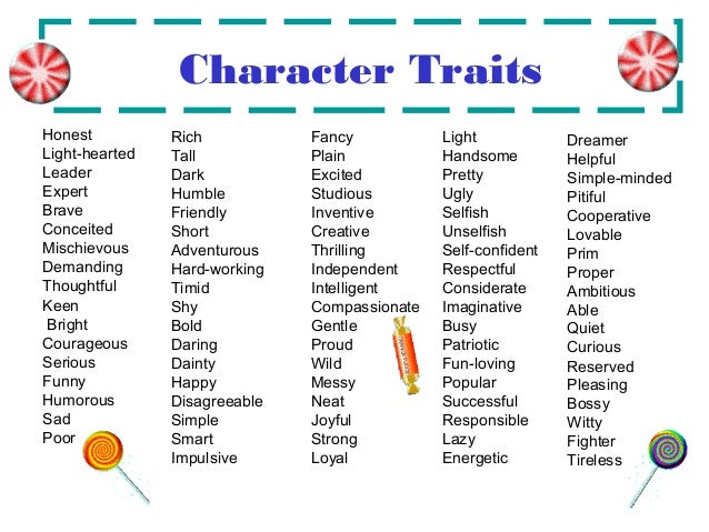 Character Traits Essay