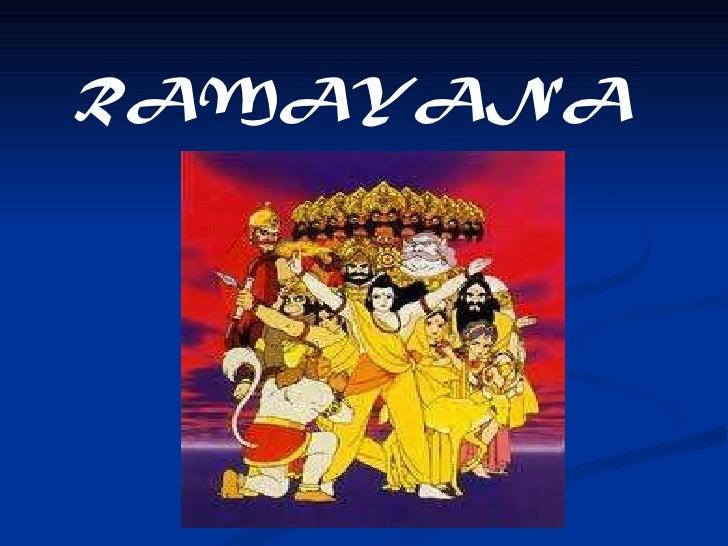Characters ramayana