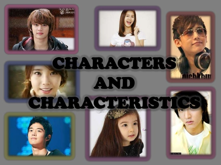 How I Met Myself- Characters and characteristics