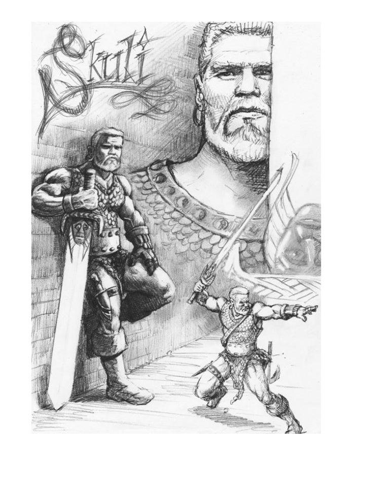 Skuli Ketilson / Orinar                  Warblade: 10Charging Minotaur (Zantranna): 5 per day                             ...