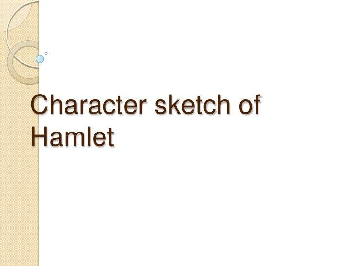 Character sketch of Hamlet<br />