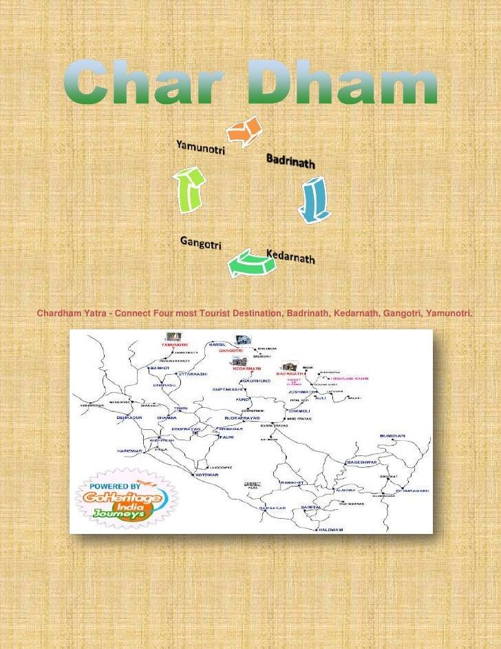 Chardham Yatra - Connect Four most Tourist Destination, Badrinath, Kedarnath, Gangotri, Yamunotri.