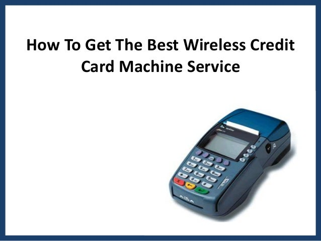 best wireless credit card machine