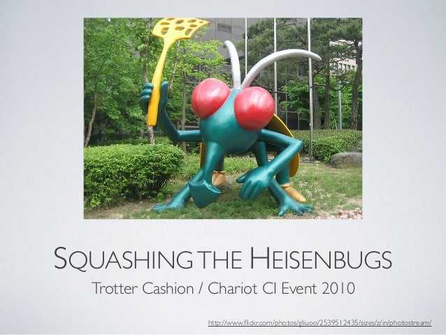 Squashing the Heisenbugs