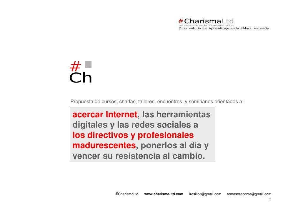 Charisma presentacion-publico-general-v111012