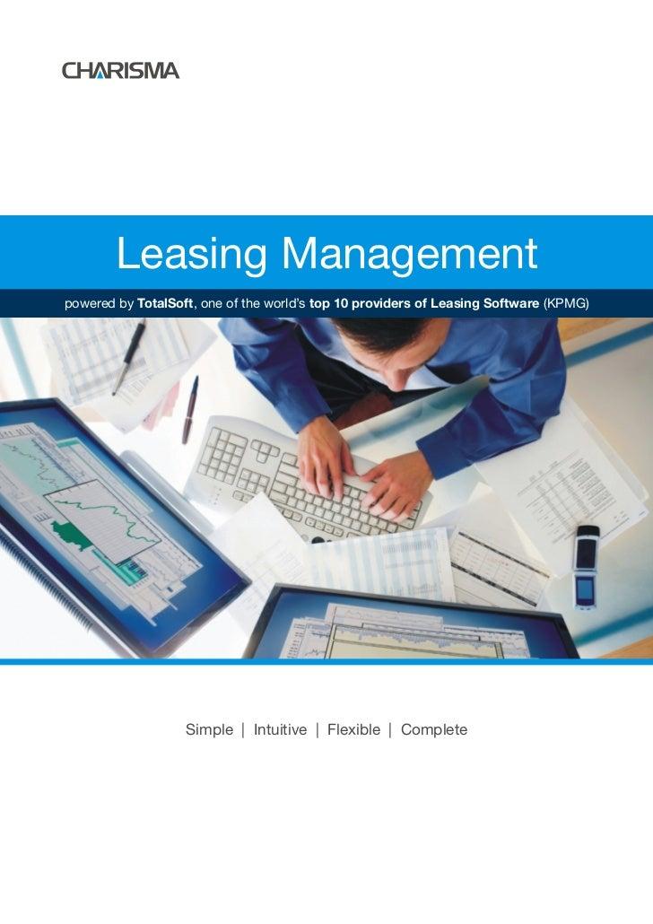 Charisma Leasing Management
