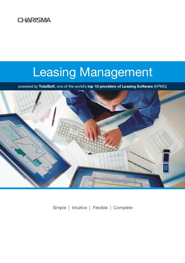 Leasing Management Simple | Intuitive | Flexible | Complete powered by TotalSoft, one of the world's top 10 providers of L...