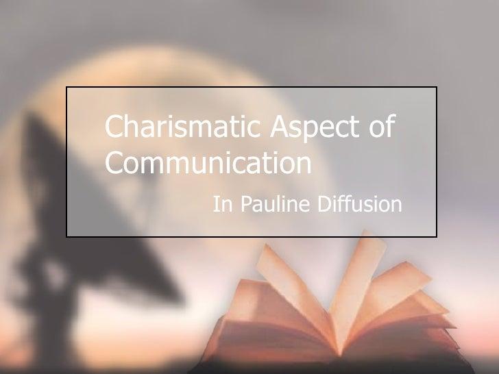 Charismatic Aspect Of Communication Remake