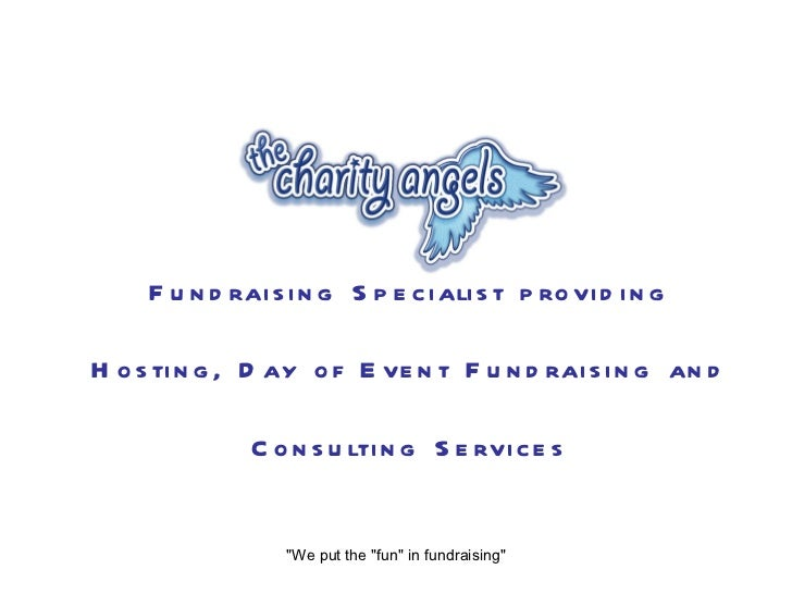 """Fundraising Specialist providing Hosting, Day of Event Fundraising and Consulting Services """"We put the """"fun&quot..."""