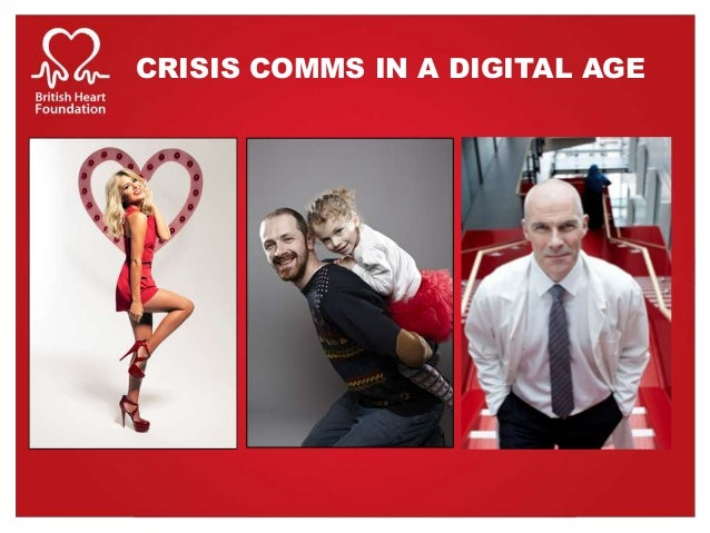 CRISIS COMMS IN A DIGITAL AGE