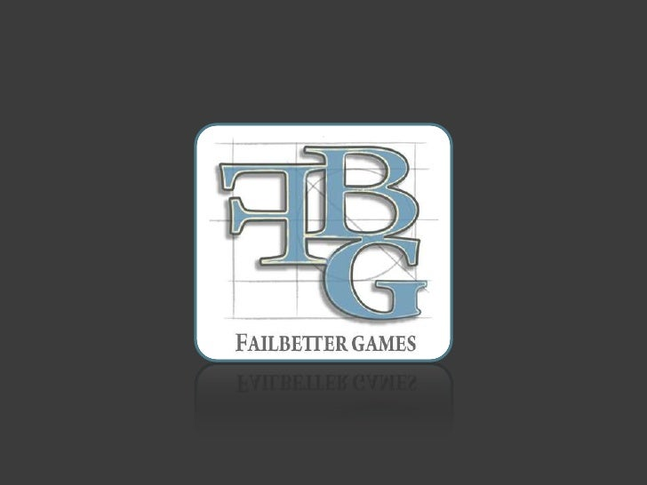 FailBetter Games: storytelling and interactive narratives