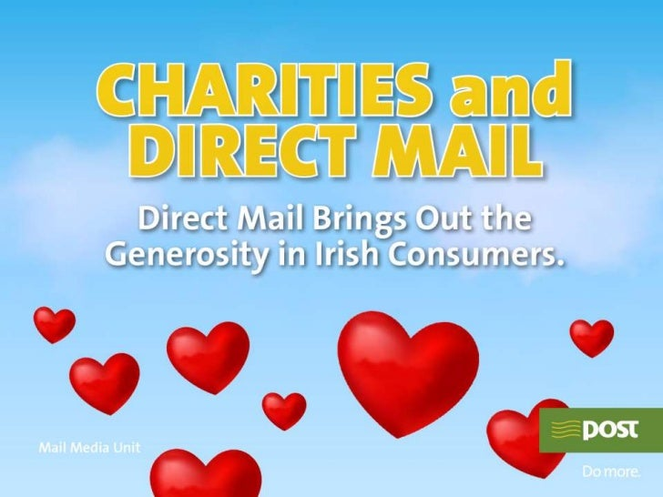 Charity & direct mail