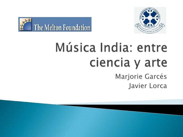 Música India: Entre Ciencia y Arte
