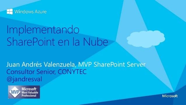 Charla - SharePoint en la Nube (17Jul2013)