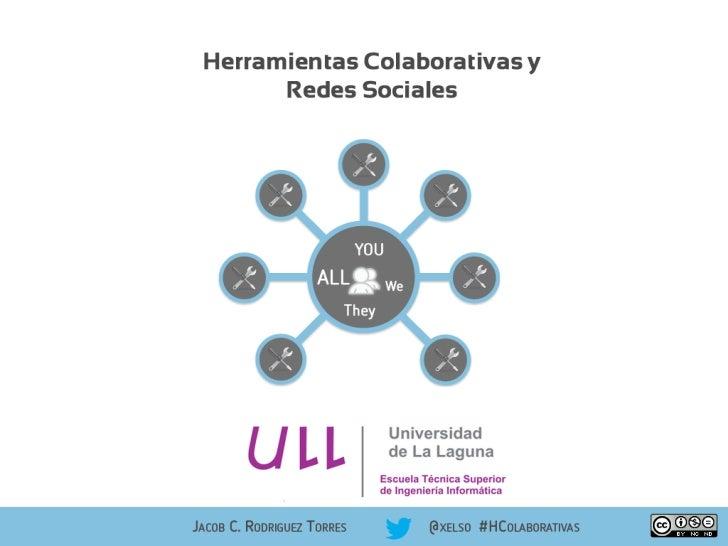 Herramientas Colaborativas y Redes Sociales