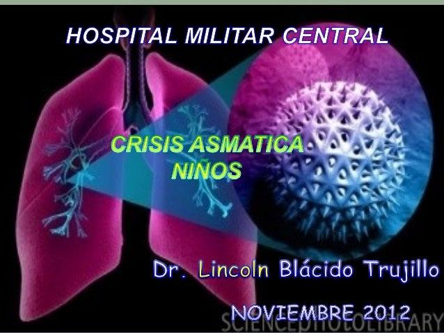 Charla  Crisis Asmática Niños 2012