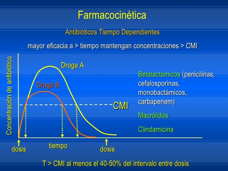Clindamicina farmacocinetica
