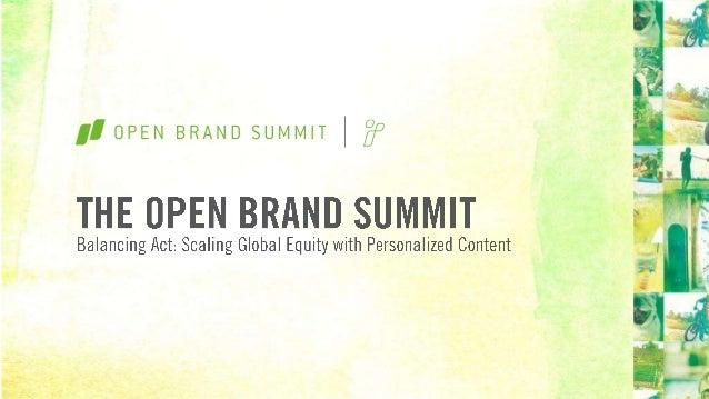 Open Brand Summit: Charlene Patten & Terri Spring