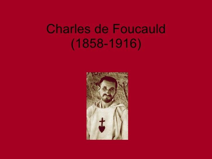 Charles de Foucauld (1858-1916)